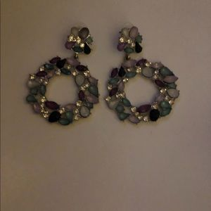 Fashion jewel and crystal earrings gorgeous!